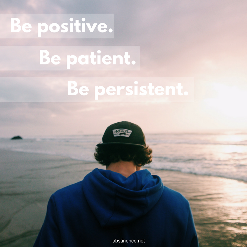 Be positive. (1)